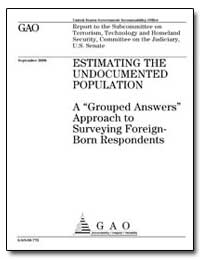 A Grouped Answers Approach to Surveying ... by General Accounting Office