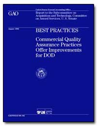 Best Practices Commercial Quality Assura... by Schinasi, Katherine V.