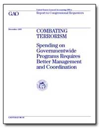 Combating Terrorism Spending on Governme... by Davis, Richard