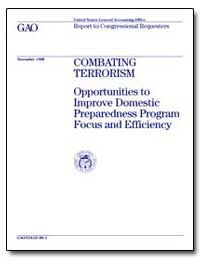 Combating Terrorism Opportunities to Imp... by Davis, Richard