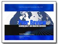 Gao's Peer Review Experience by Walker, David M.