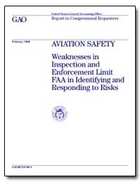 Aviation Safety Weaknesses in Inspection... by Dillingham, Gerald L.