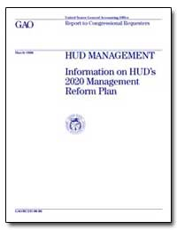 Hud Management Information on Hud's 2020... by England-Joseph, Judy A.