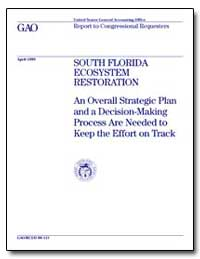 South Florida Ecosystem Restoration an O... by Rezendes, Victor S.