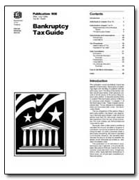 Bankruptcy Tax Guide by United States Department of the Treasury