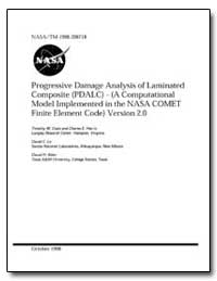 Progressive Damage Analysis of Laminated... by Coats, Timothy W.