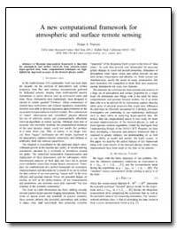 A New Computational Framework for Atmosp... by Timucin, Dogan A.
