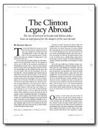 The Clinton Legacy Abroad by Kagan, Robert