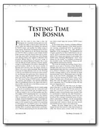 Testing Time in Bosnia by New American Century