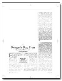 Reagans Ray Gun How the Cold War Was Won by Schmitt, Gary