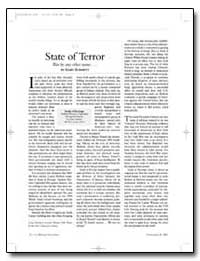 State of Terror by Schmitt, Gary