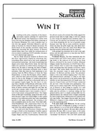 Win It by Kagan, Robert