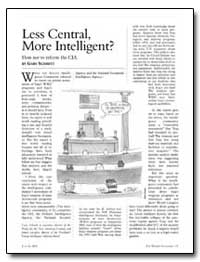 Less Central, More Intelligent by Schmitt, Gary
