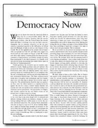 Democracy Now by Kagan, Robert