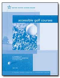 Accessible Golf Courses by United States Access Board