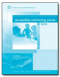 Accessible Swimming Pools and Spas by United States Access Board