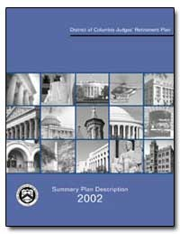 District of Columbia Judges Retirement P... by United States Department of the Treasury