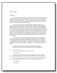 This Letter Is Written in Response to Yo... by Bragg, Jeffrey S.