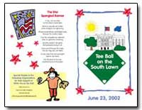 Tee Ball on the South Lawn by
