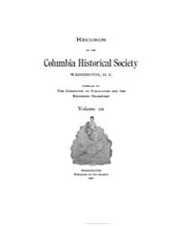 Records of the Columbia Historical Socie... Volume Vol. 10 by