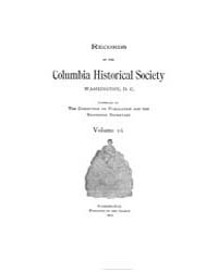Records of the Columbia Historical Socie... Volume Vol. 16 by
