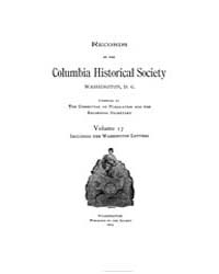 Records of the Columbia Historical Socie... Volume Vol. 17 by