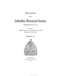 Records of the Columbia Historical Socie... Volume Vol. 19 by