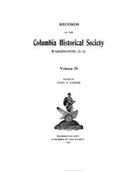 Records of the Columbia Historical Socie... Volume Vol. 24 by