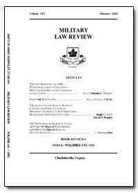 Military Law Review-Volume 141 by Risch, Stuart W., Captain