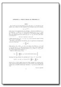 Appendix a : Weil's Proof of Theorem 8. ... by