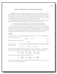 Introduction to Continuum Mechanics by