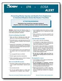 Alert : Preventing Worker Injuries and D... by Department of Health and Human Services