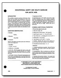 Occupation Safety and Health Guideline f... by Department of Health and Human Services