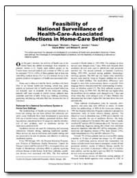 Feasibility of National Surveillance of ... by Manangan, Lilia P.