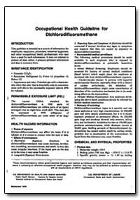 Occupational Health Guideline for Dihlor... by Department of Health and Human Services