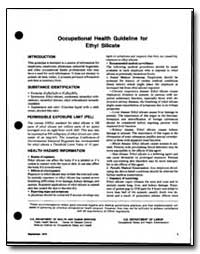 Occupational Health Guideline for Ethyl ... by Department of Health and Human Services