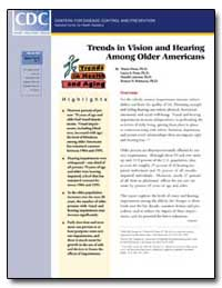 Trends in Vision and Hearing Among Older... by Desai, Mayur, Ph. D.