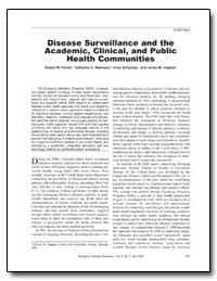 Disease Surveillance and the Academic, C... by Pinner, Robert W.