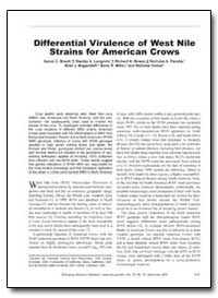 Differential Virulence of West Nile Stra... by Brault, Aaron C.
