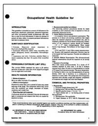 Occupational Health Guideline for Mica by Department of Health and Human Services