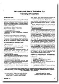 Occupational Health Guideline for Triphe... by Department of Health and Human Services