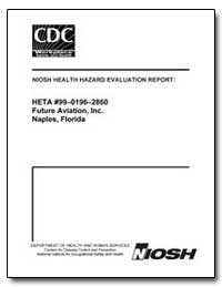 Niosh Health Hazard Evaluation Report by Department of Health and Human Services