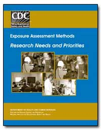 Exposure Assessment Methods Research Nee... by Rest, Kathleen M., Ph. D.