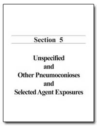 Unspecified and Other Pneumoconioses and... by Department of Health and Human Services