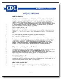 Body Lice Infestation by Department of Health and Human Services