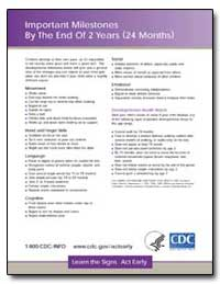 Important Milestones by the End of 2 Yea... by Hannermann, Robert E.