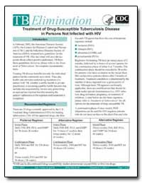 Treatment of Drug-Susceptible Tuberculos... by Department of Health and Human Services