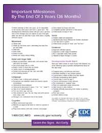 Important Milestones by the End of 3 Yea... by Department of Health and Human Services