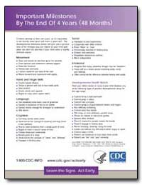 Important Milestones by the End of 4 Yea... by Department of Health and Human Services