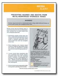 Preventing Injuries and Deaths from Meta... by Department of Health and Human Services